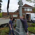 58-lifting-cross-onto-galleywood-war-memorial